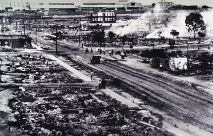 Black Wall Street Burned to Ground